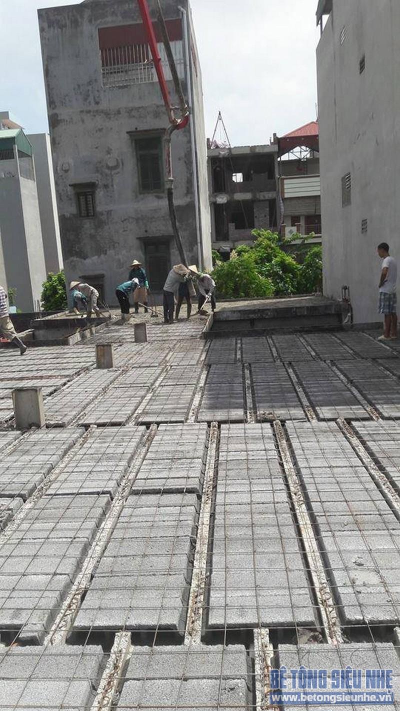 Hoàn thiện sàn bê tông siêu nhẹ nhà anh Thiện, Đông Anh, Hà Nội - 09