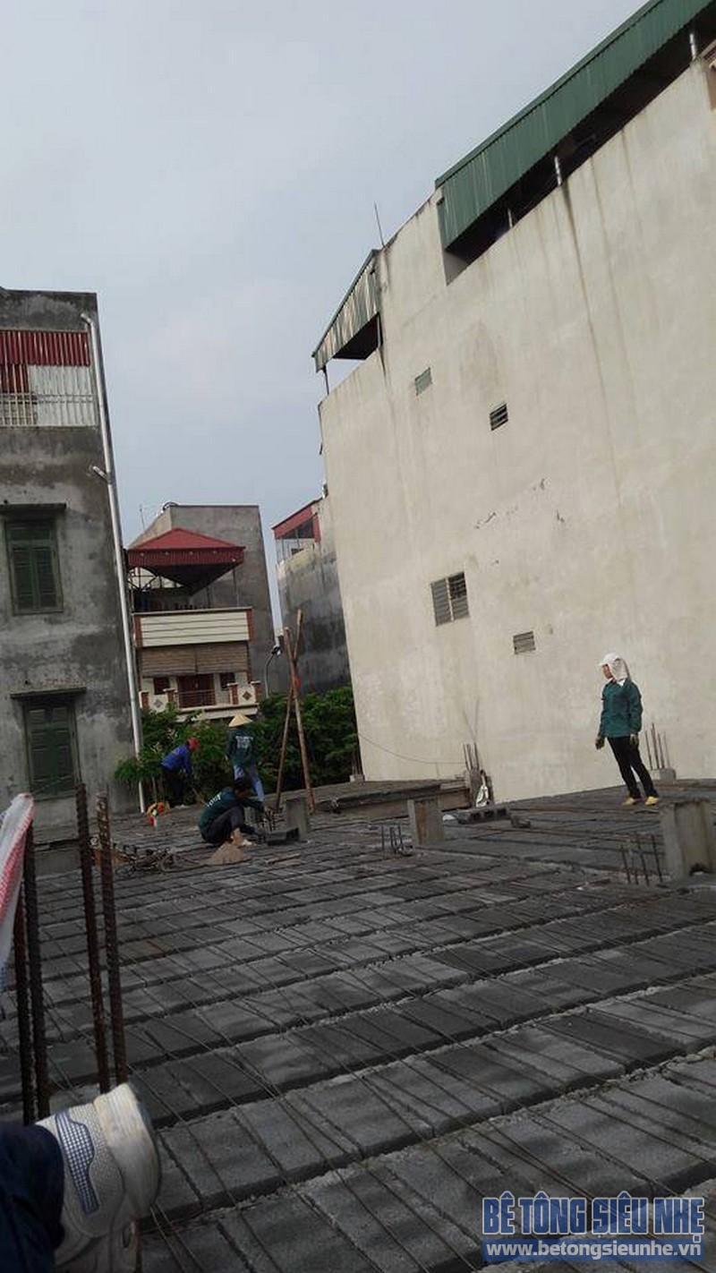 Hoàn thiện sàn bê tông siêu nhẹ nhà anh Thiện, Đông Anh, Hà Nội - 10