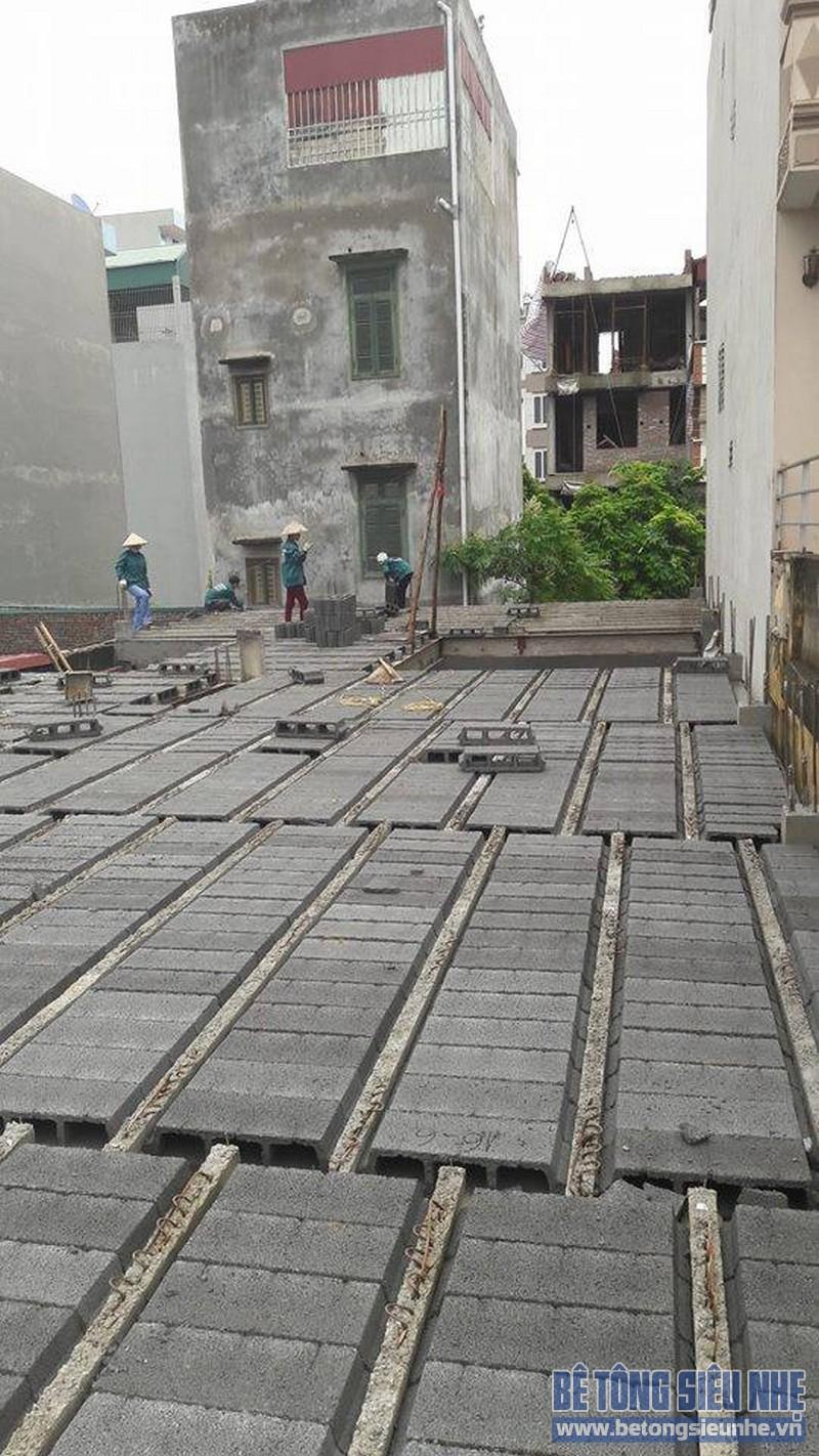 Hoàn thiện sàn bê tông siêu nhẹ nhà anh Thiện, Đông Anh, Hà Nội - 11