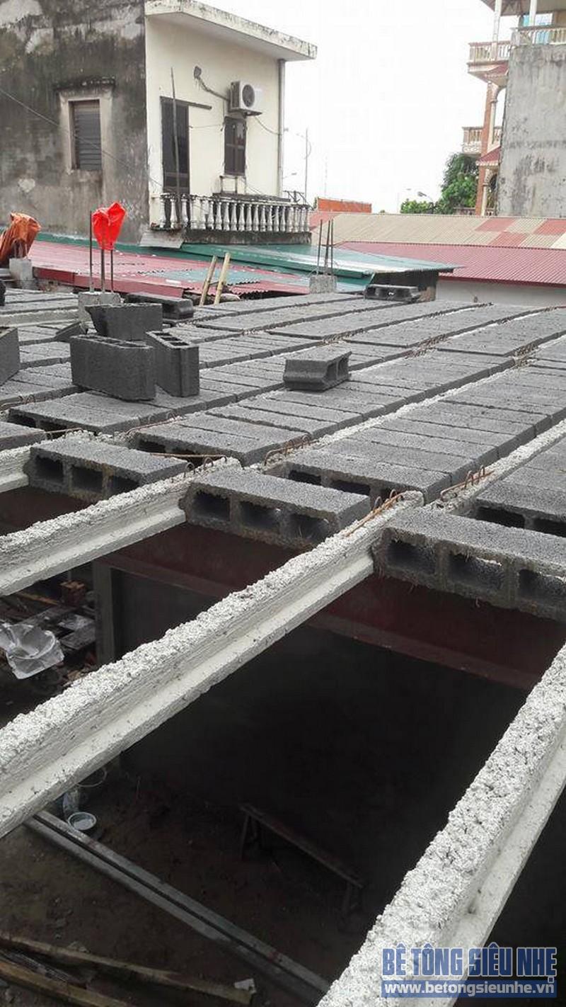 Cải tạo nhà bằng bê tông siêu nhẹ nhanh chóng, tiết kiệm thời gian, chi phí
