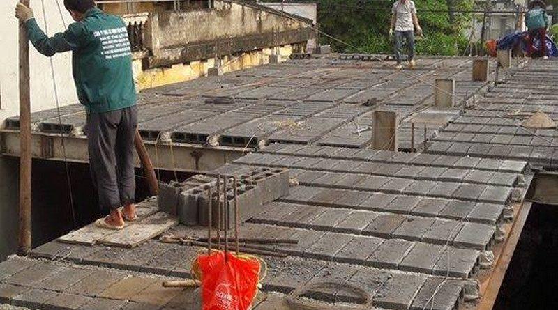 Sàn bê tông siêu nhẹ đặc biệt phù hợp với các công trình trong ngõ, hẻm