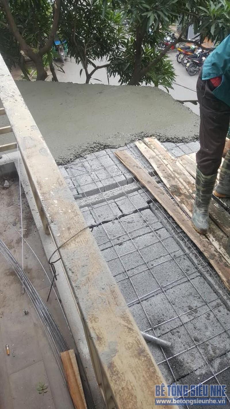 Làm sàn bê tông siêu nhẹ cực đẹp, cực bền