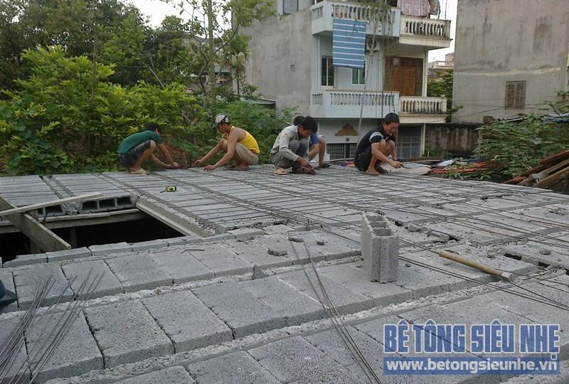 Báo giá sàn bê tông nhẹ lắp ghép tốt nhất Hà Nội theo đơn giá m2