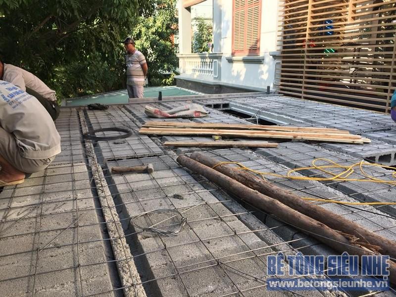 Cải tạo nhà phố bằng sàn bê tông nhẹ nhà anh Trinh, Cầu giấy, Hà Nội - 03