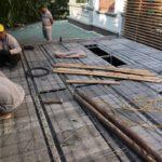 Cải tạo nhà phố bằng sàn bê tông nhẹ nhà anh Trinh, ngõ 170 Xuân Thủy, Cầu Giấy, Hà Nội