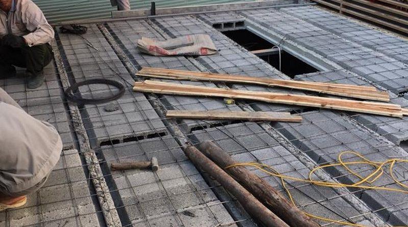 Cải tạo nhà phố bằng sàn bê tông nhẹ nhà anh Trinh, Cầu giấy, Hà Nội - 05