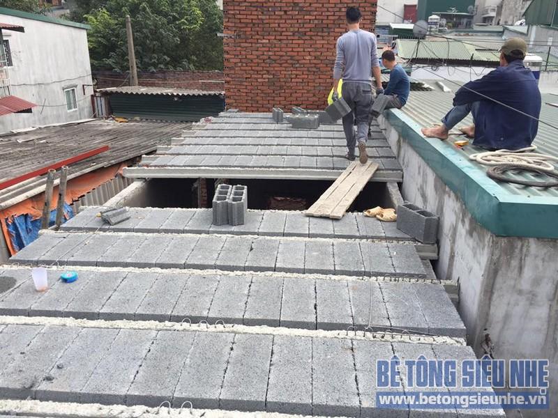 Bê tông siêu nhẹ là một loại bê tông sử dụng công nghệ bê tông dự ứng lực bán lắp ghép