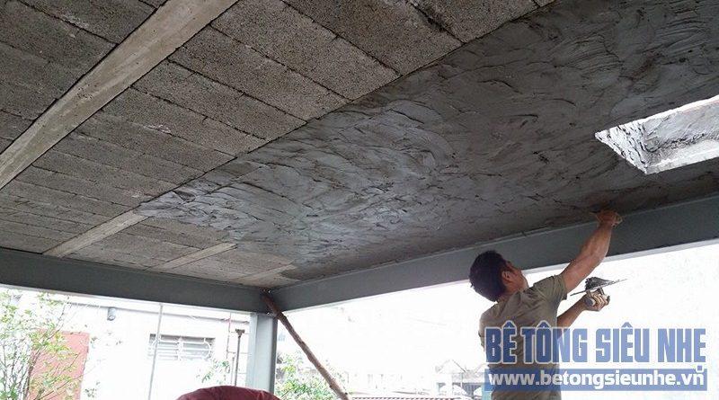 Ưu điểm nổi trội khi sử dụng vật liệu bê tông siêu nhẹ cho công trình nhà ở