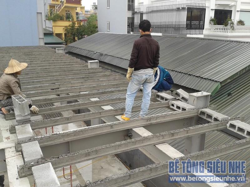 Sử dụng sàn bê tông siêu nhẹ là giải pháp hỗ trợ hữu hiệu cho các công trình xây dựng