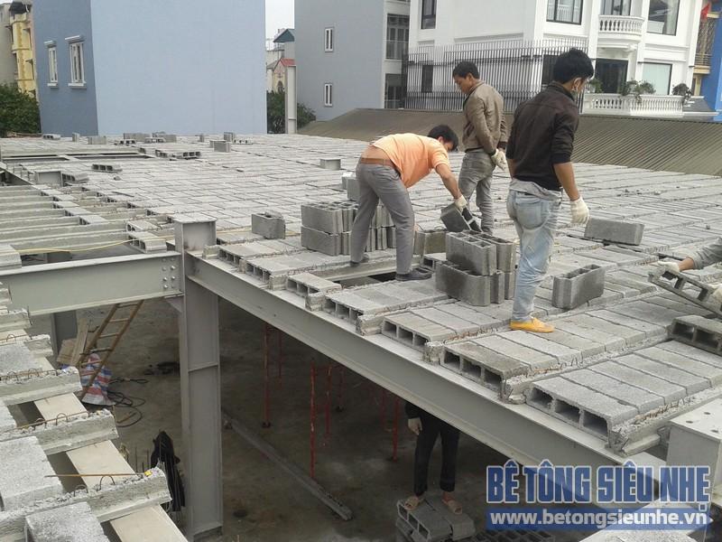 Bê tông siêu nhẹ là loại vật tư có nhiều ưu điểm vượt trội so với bê tông thông thường