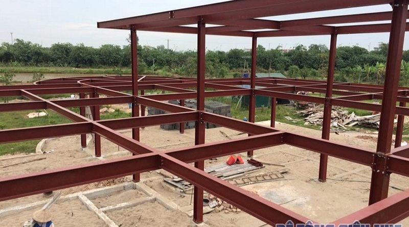 Phân tích các ưu nhược điểm của kết cấu nhà khung thép