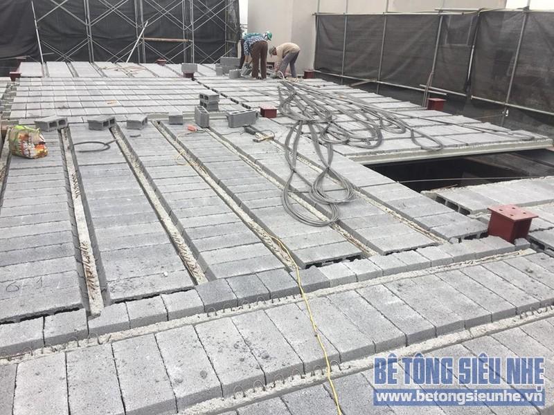 Nâng tầng nhà phố bằng bê tông nhẹ và hệ khung thép nhà anh Dũng, Hoài Đức, Hà Nội - 07