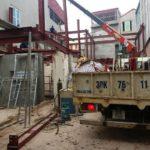 Lắp dựng nhà thép tiền chế tại Hoài Đức, Hà Nội nhà anh Cường