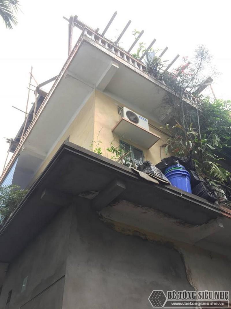 Nâng tầng bằng vật liệu nhẹ - bê tông siêu nhẹ nhà anh Chiến, Từ Liêm, Hà Nội - 03