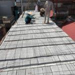 Nâng tầng bằng vật liệu nhẹ, sàn bê tông nhẹ nhà anh Tiến, Hoàng Mai, Hà Nội