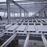 Thi công nhà khung thép giá rẻ và sàn bê tông nhẹ tại Hà Đông, Hà Nội