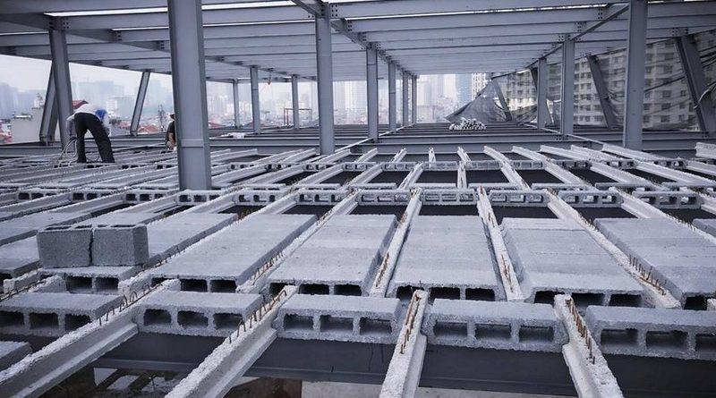 Thi công nhà khung thép giá rẻ và sàn bê tông nhẹ tại Hà Đông, Hà Nội - 07