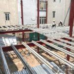 Thi công nhà khung thép, sàn bê tông nhẹ tại Xuân La, Tây Hồ, Hà Nội