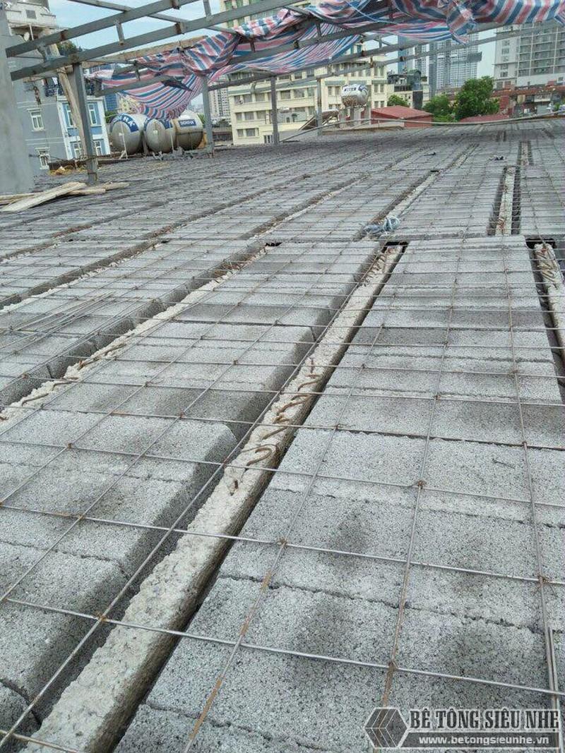 Thi công sàn bê tông nhẹ cho nhà xưởng tại Đông Anh, Hà Nội - 02