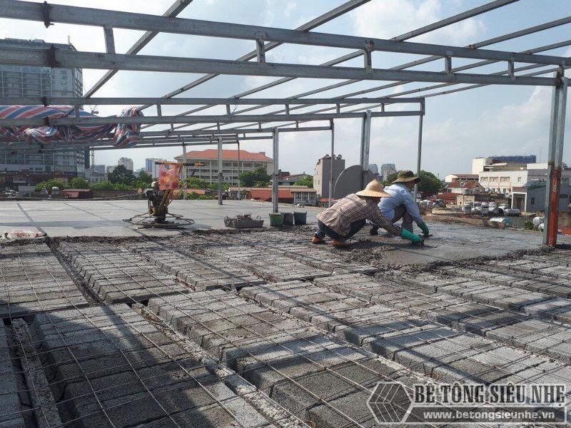 Thi công sàn bê tông nhẹ cho nhà xưởng tại Đông Anh, Hà Nội - 05