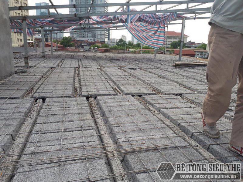 Thi công sàn bê tông nhẹ cho nhà xưởng tại Đông Anh, Hà Nội - 08