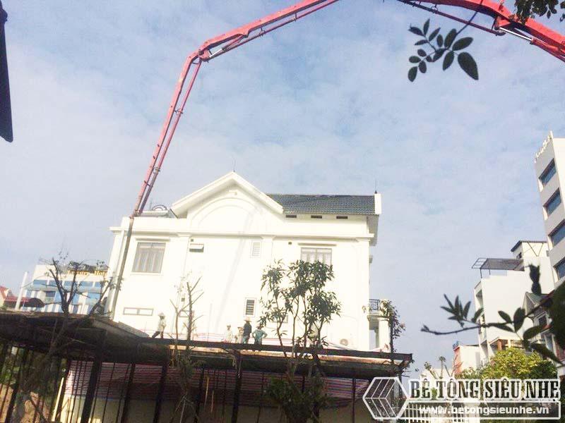 Thi công hệ khung thép tiền chế và sàn bê tông nhẹ tại Thanh Trì, Hà Nội nhà anh Mong - 03