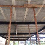 Thi công hệ khung thép tiền chế và sàn bê tông nhẹ tại Thanh Trì, Hà Nội nhà anh Mong