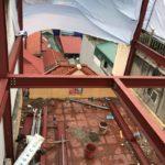 Thi công khung thép tiền chế để nâng tầng cho nhà anh Hiệu, Hoàng Mai, Hà Nội