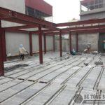 Cải tạo nâng tầng nhà phố vì sao nên sử dụng sàn bê tông nhẹ?