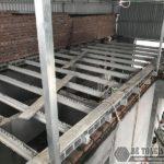 Sử dụng sàn bê tông nhẹ cải tạo mái tôn thành nhà trần tại Cầu giấy, Hà Nội