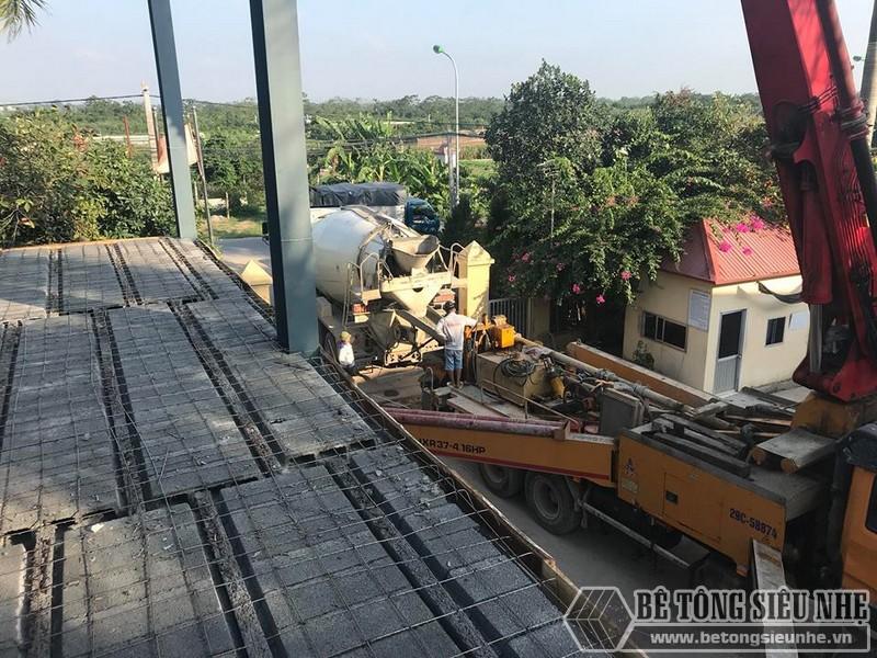 Hoàn thiện sàn bê tông nhẹ nhà anh Hoàn, Thanh Trì, Hà Nội - 04