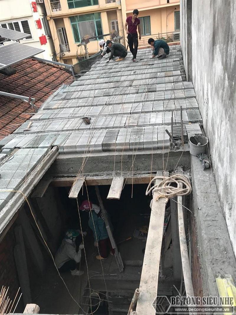 Xây nhà 2 tầng bằng sàn bê tông nhẹ giá siêu rẻ tại Thạch Thất, Hà Nội- 03