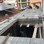 Xây nhà 2 tầng bằng sàn bê tông nhẹ giá siêu rẻ tại Thạch Thất, Hà Nội