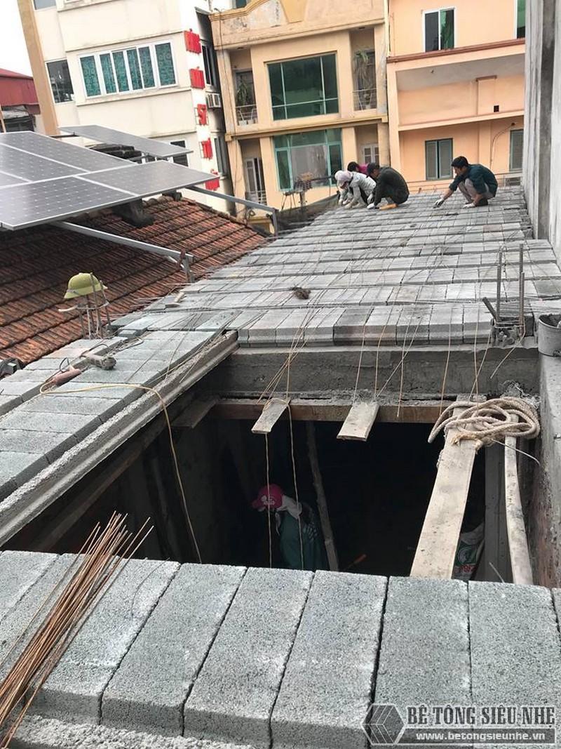 Xây nhà 2 tầng bằng sàn bê tông nhẹ giá siêu rẻ tại Thạch Thất, Hà Nội- 05