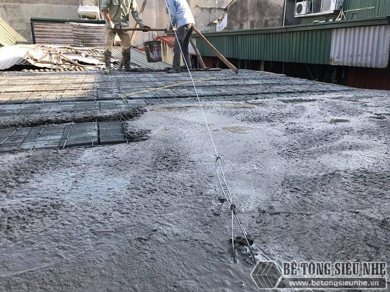 Làm sàn bê tông nhẹ cải tạo nhà cấp 4 thành nhà trần giá siêu rẻ tại Từ Liêm, Hà Nội - 05