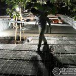 8 giờ hoàn thiện 60m2 sàn bê tông siêu nhẹ tại Hà Đông, Hà Nội
