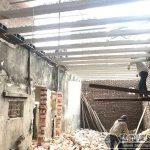 Cải tạo nhà giá rẻ với sàn bê tông nhẹ tại nhà anh Định, ngõ 2 Phạm Văn Đồng