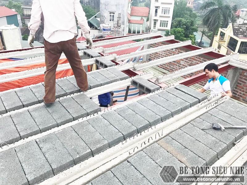 Làm nhà 5 tầng bằng khung thép tiền chế và bê tông siêu nhẹ tại Từ Liêm, Hà Nội cho gia đình anh Măng - 02