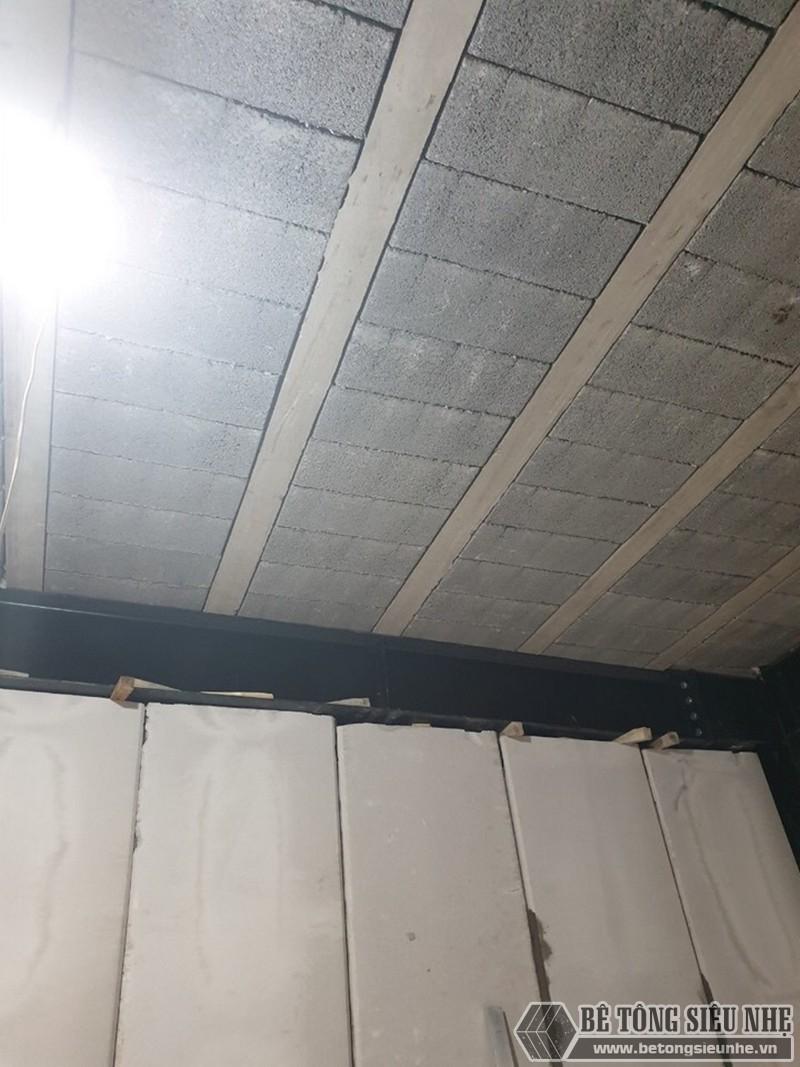Tấm bê tông nhẹ làm tường có tính thẩm mỹ cao, khả năng cách âm, cách nhiệt tốt