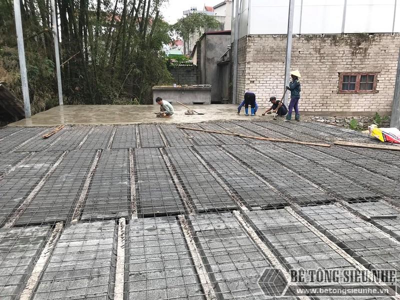 Thi công nhà khung thép, sàn bê tông nhẹ Xuân Mai tại Lạng Sơn - 05