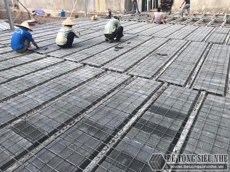 Thi công nhà khung thép, sàn bê tông nhẹ Xuân Mai tại Lạng Sơn - 04