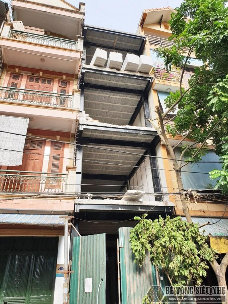 Xây nhà bằng 100% vật liệu nhẹ tại Hoàn Kiếm, Hà Nội nhà anh Phúc - 02