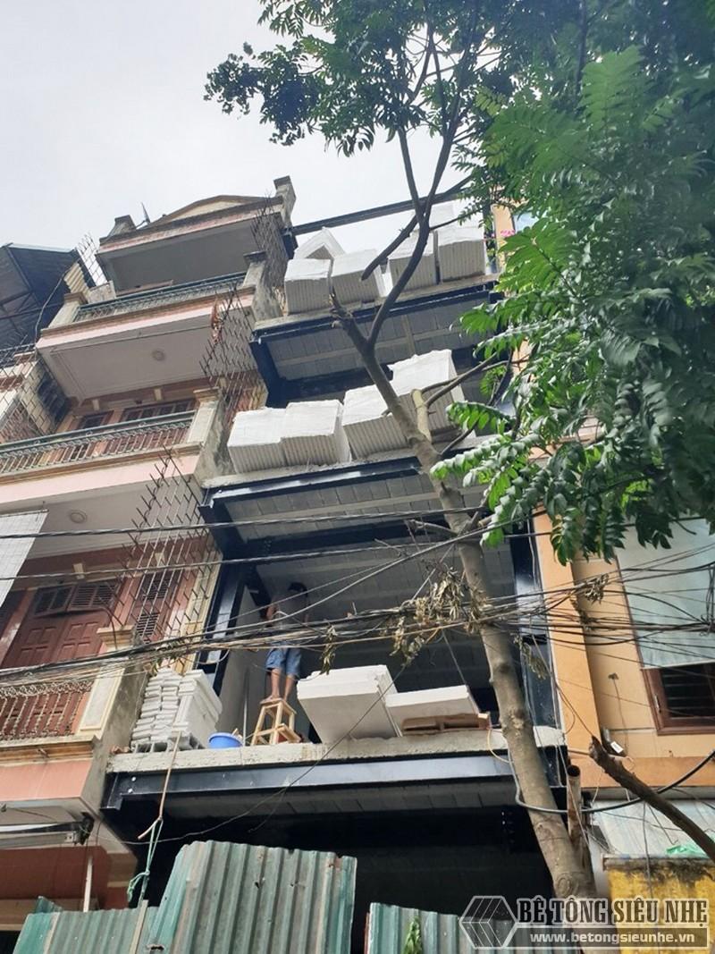 Xây nhà bằng 100% vật liệu nhẹ tại Hoàn Kiếm, Hà Nội nhà anh Phúc - 03