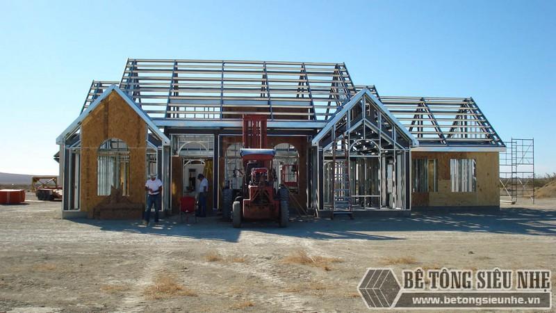 Nhà khung thép tiền chế phù hợp cho mọi công trình