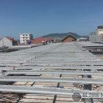 Thi công bê tông siêu nhẹ làm xưởng may tại Nam Định