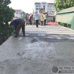 Cách làm sàn bê tông nhẹ trực quan qua seri ảnh thực tế thi công ở Hà Nội
