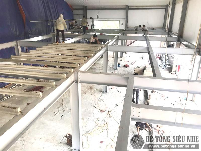 Làm nhà khung thép không bắt buộc phải xây theo thứ tự như nhà truyền thống