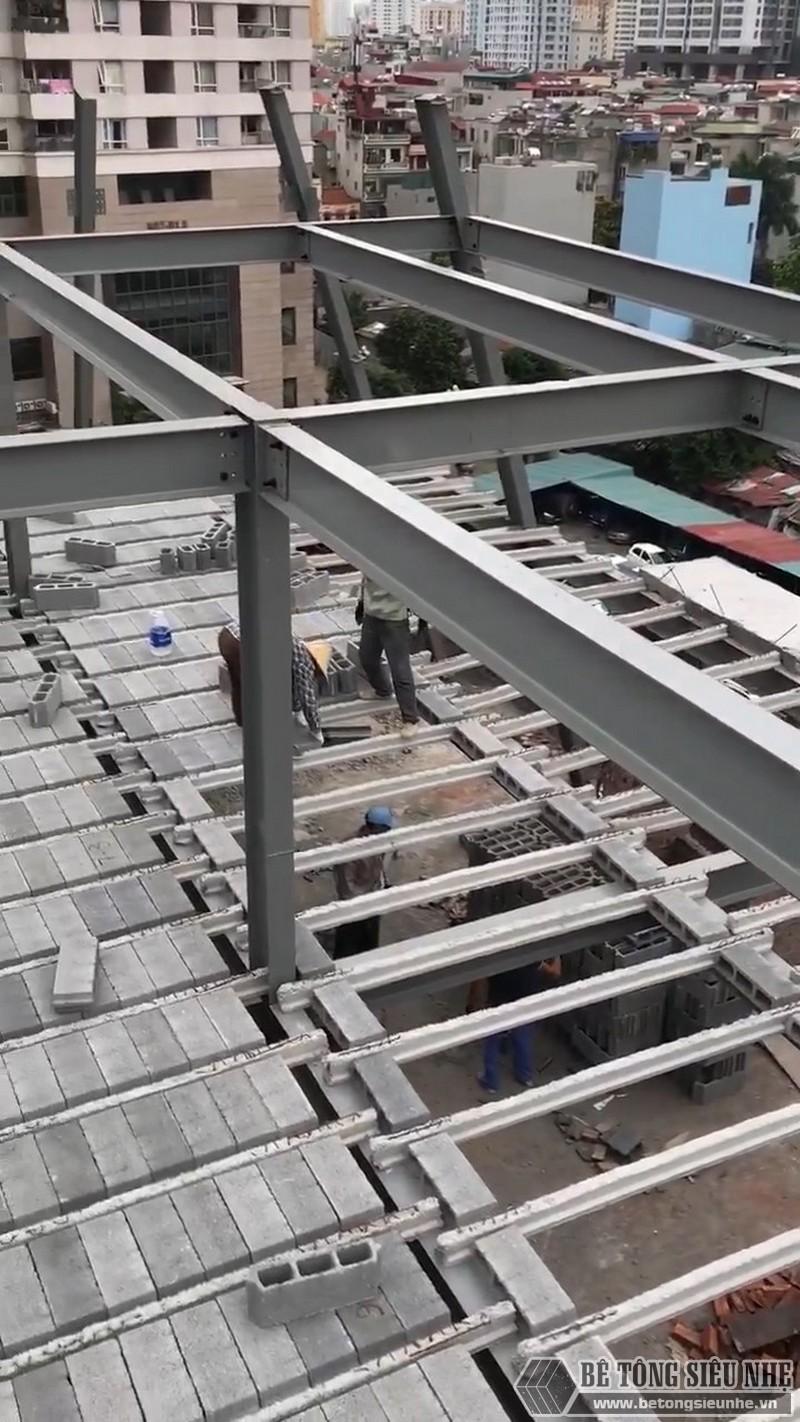 Xây nhà bằng khung thép tiền chế và sàn panel hiện đang là xu hướng mới rất được ưa chuộng