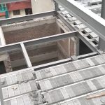Thi công khung thép tiền chế và sàn bê tông nhẹ làm văn phòng tại Cầu giấy, Hà Nội