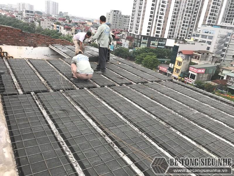 Thi công bê tông nhẹ trọn gói tại Hà Nội, công trình thực tế tại Gia Lâm - 06